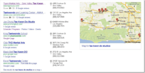 google local pack 2013